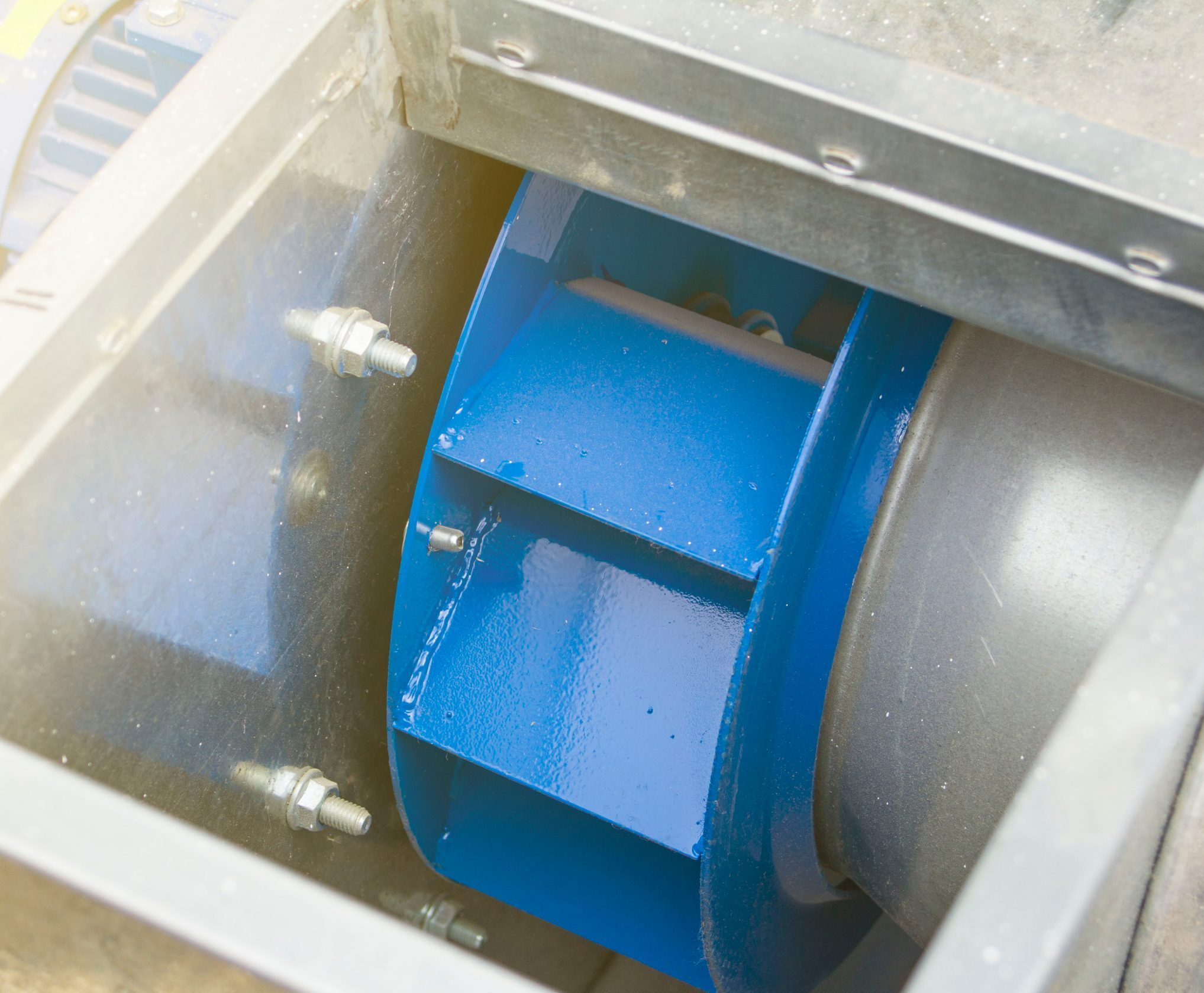 Dinamično uravnoteženje ventilatora