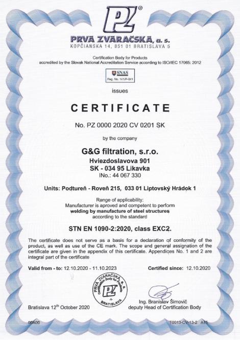 1090-2: 2020 Zavarivanje i proizvodnja čeličnih konstrukcija