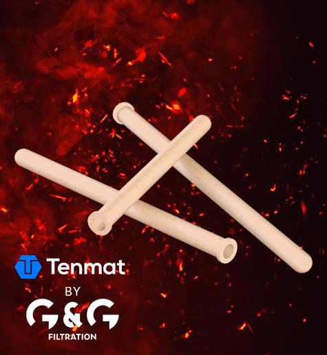 Keramički filtrirani elementi za filtriranje vrućih dimnih plinova